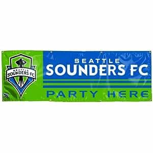 Amazon Com Mls Seattle Sounders Fc 2 By 6 Foot Vinyl
