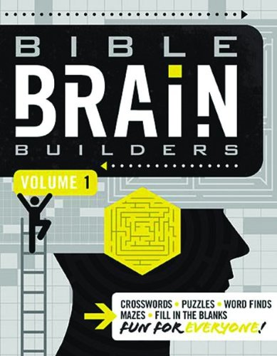 Bible Brain Builders, Volume 1 Bible Games Puzzles