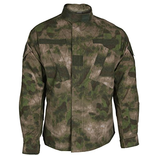 (Propper ACU Coat, A-TACS FG, Size Large Regular F545938381L2)