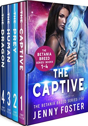 The Betania Breed Series: Books 1-4: A SciFi Alien Romance Collection