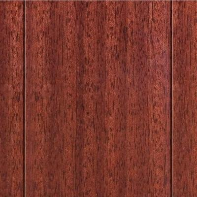High Gloss Santos Mahogany 3/8in.Thick x4-3/4 in.Widex47-1/4 in Length Click Lock Hardwood Flooring (24.94 - Santos Mahogany Hardwood Flooring
