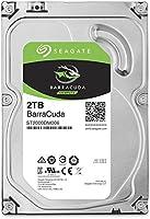 "Seagate ST2000DM006 Internal Hard Drive 2TB BarraCuda, SATA 6Gb/s, 64MB Cache, 3.5"""