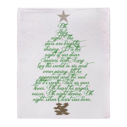 ght Tree Soft Fleece Throw Blanket, 50