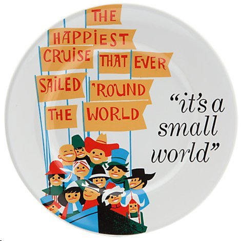Disney's It's a Small World Plate