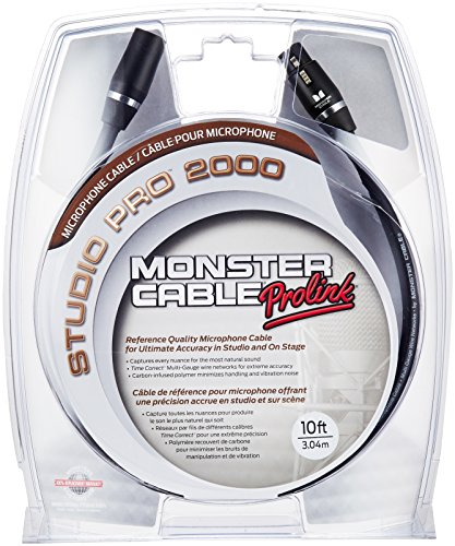 Monster Studio 2000 Microphone Cable product image