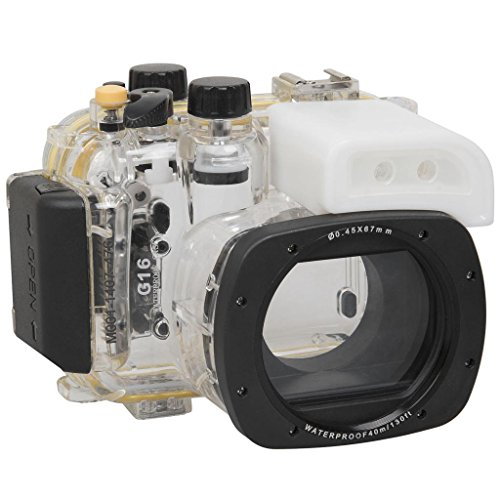 Polaroid SLR Dive Rated Waterproof Underwater Housing Case For The Canon G16 Digital Camera by Polaroid