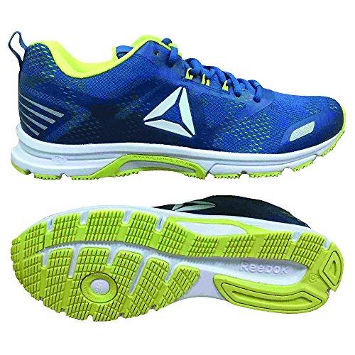 Reebok Ahary Runner, Chaussures de Running Homme Multicolore (Blue Slate/Lemon Zest Cn5342)