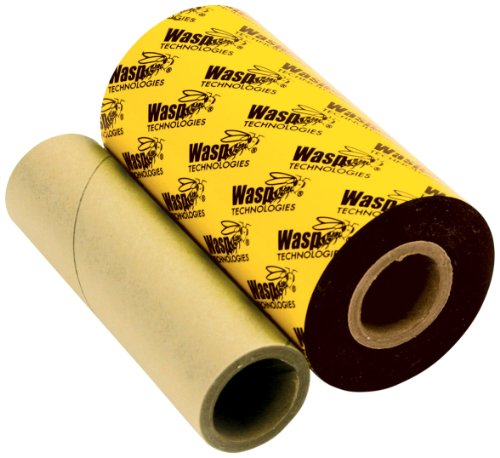 (Wasp WPR General Purpose Wax/Resin Barcode Label Ribbon for WPL305/606 Printers, 820' Length x 4.33