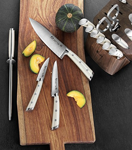 Cangshan S1 Series 1022599 German Steel Forged 17-Piece Knife Block Set , Walnut by Cangshan (Image #5)'