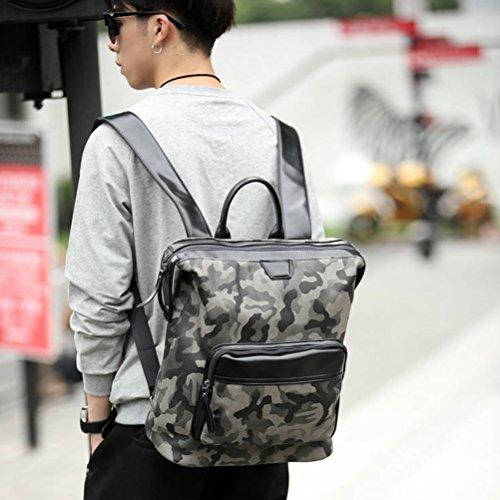 "VIISHOW Moda para hombre al aire libre mochila camuflaje portátil bolsa de 14 ""bolso portátil para los hombres camuflaje1"