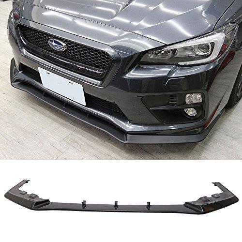 - Front Bumper Lip Spoiler Fits 2015-2019 Subaru Impreza WRX & STI | MP Style Black ABS Front Bumper Lip Spoiler Bodykit Splitter Diffuser Air Dam Chin Diffuser by IKON MOTORSPORTS