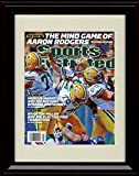 Framed Aaron Rodgers Sports Illustrated Autograph Replica Print - Mind Game