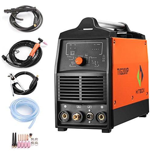 200A Inverter TIG Welder Pulse Digital High Frequency TIG Welding Machine...