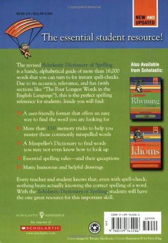 scholastic dictionary of spelling pdf