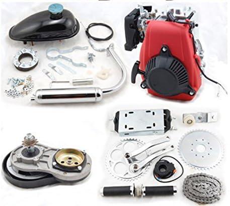 GOWE 4 tiempos 49 cc Gas Gasolina Motor para bicicleta Motor Kit ...