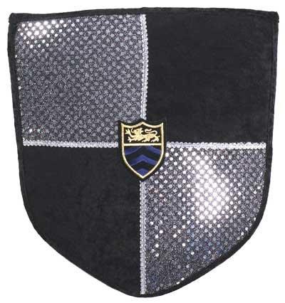 Deluxe Shield (Black/Silver) ()