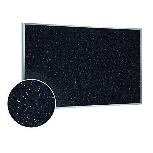Ghent Recycled Rubber Tackboard - 3X4' ()