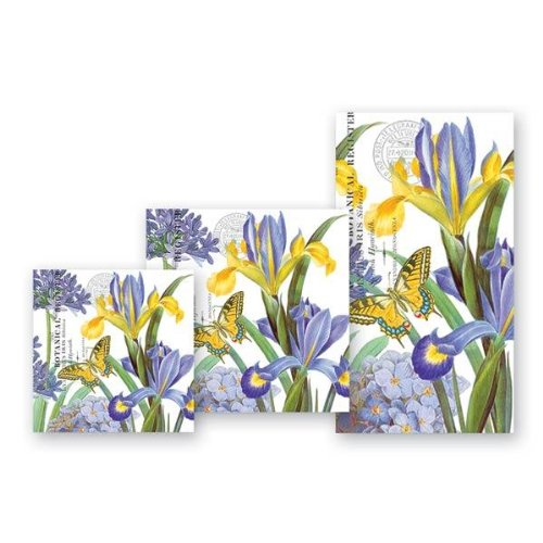 Michel Design Works Iris Luncheon Napkins, Package of 20, 3-Ply