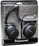 Panasonic RP-HX350ME Black Over-Ear Headphones w/Mic for iPod/MP3player/Mobiles