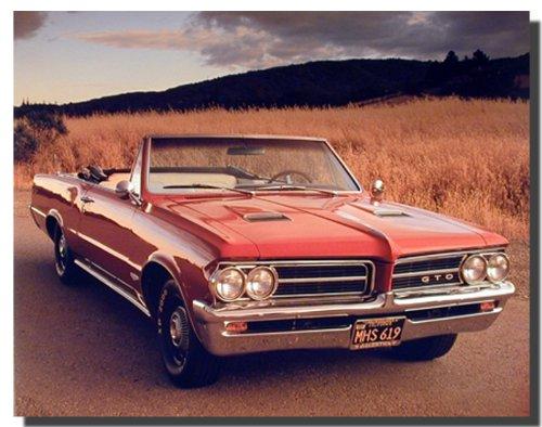 1964 Pontiac GTO Vintage Classic Car Wall Decor Art Print Poster (16x20) ()