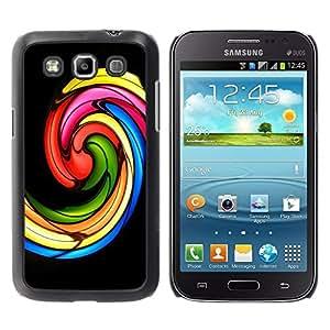 Be Good Phone Accessory // Dura Cáscara cubierta Protectora Caso Carcasa Funda de Protección para Samsung Galaxy Win I8550 I8552 Grand Quattro // Church Stained Glass Black