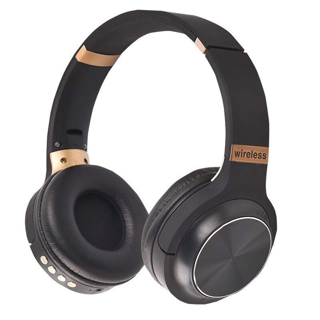 Barlingrock Wireless Headset Bluetooth 4.1 Stereo Over Ear Foldable Headphones Built-in Mic, Pc Game Headsets, Hd Mic, Hd Sound, Much More Clear Music and Talking