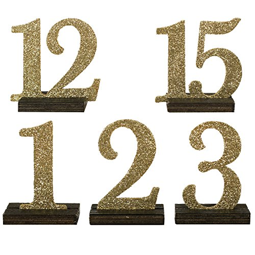 moment Numbers Catering Decoration Champagne