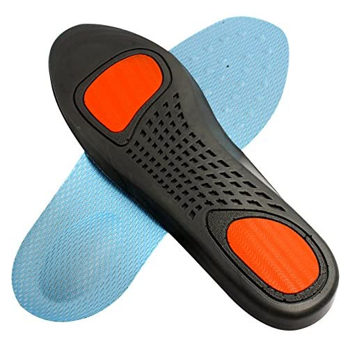 Luoshowni insoles Full length with arch supports, metatarsal and heel Cushion for plantar fasciitis treatment