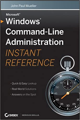 Windows command line administration instant reference 1 john paul windows command line administration instant reference 1st edition kindle edition fandeluxe Choice Image