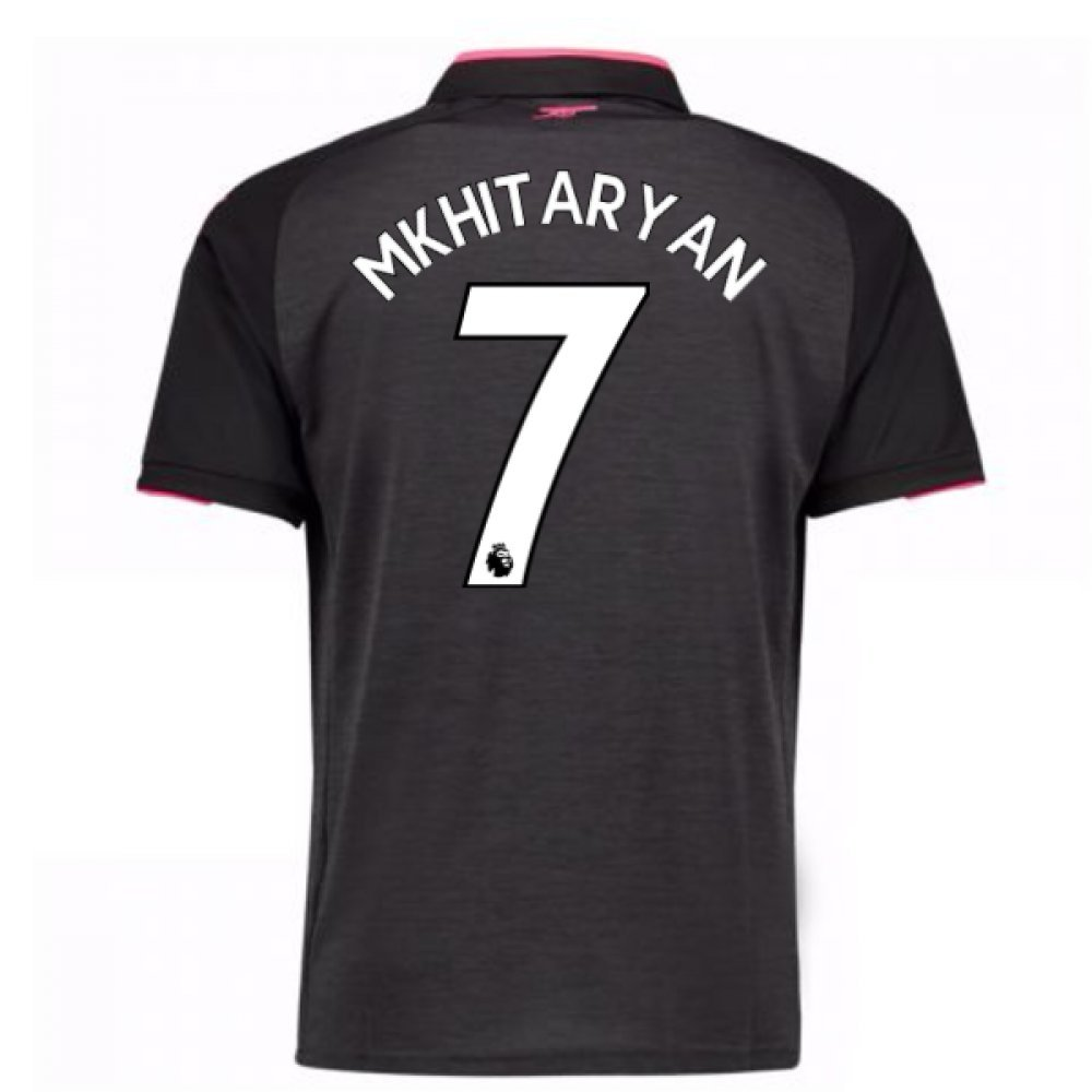 2017-18 Arsenal Third Shirt (Mkhitaryan 7) B079NXXRLHGrey XL Adults