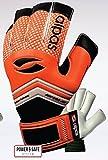 alpas Torwarthandschuhe PowerSafe V2 Orange (Fingersave) Gr. 3 bis 12 *NEU* (optional mit Ihrem Druck)