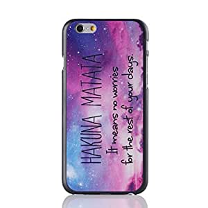 H&F Hard Plastic 4.7 Inches Iphone 6 Case with Hakuna Matata Pattern by icecream design