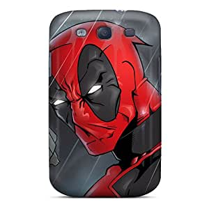 For Galaxy S3 Premium Tpu Case Cover Deadpool I4 Protective Case