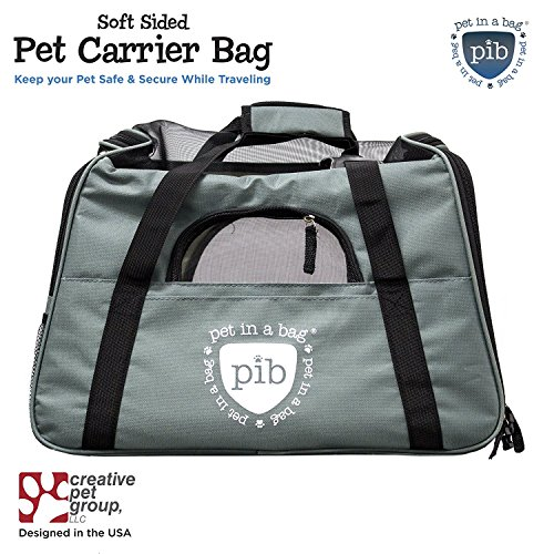 PET IN A BAG Airline Approved Pet Carriers Grey