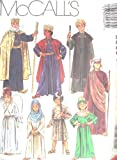 McCALL'S 5569 Nativity Biblical Costume Sewing Pattern Children Size 6, 8 ~ Christmas