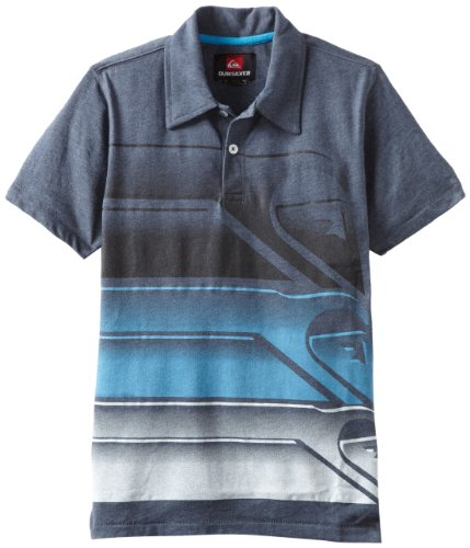 Quiksilver Big Boys' Dial Tone Knit Shirt