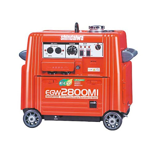 新ダイワ エンジン溶接機(発電機兼用) EGW2800MI