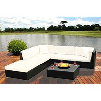 Amazon Com Outdoor Wicker Furniture New All Weather Pe