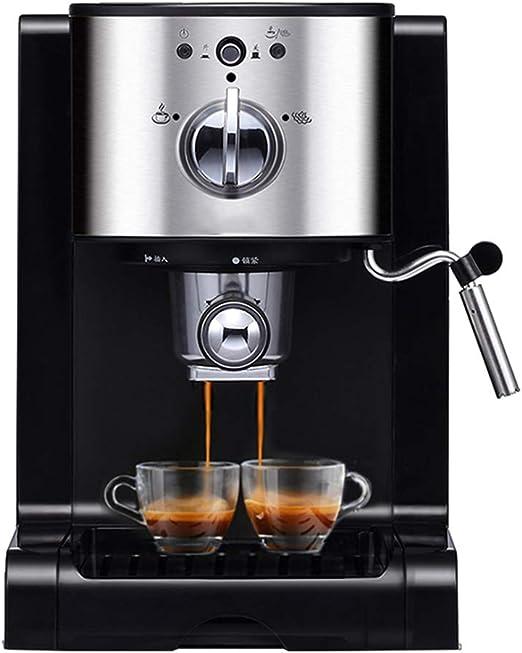 Cafetera Espresso 20 Bares, para café en Polvo y cápsulas Nespresso,Cafetera Cappuccino y Latte 1350W Boquilla de Espuma de Leche 1.5 L Tanque: Amazon.es: Hogar