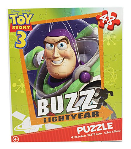 Puzzle Buzz Lightyear (Disney Pixar's Toy Story 3 Buzz Lightyear Portrait Kids Jigsaw Puzzle (48pc))