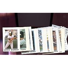 1986 Topps Major League Leaders Baseball Card Mini Complete Set