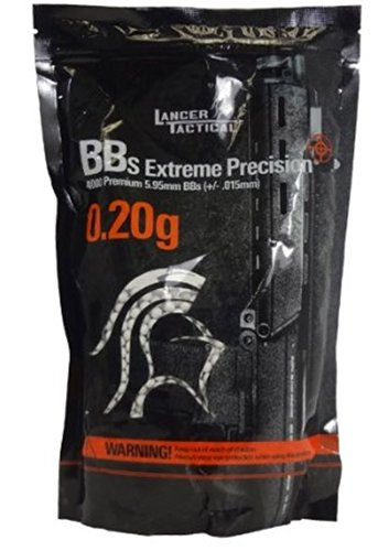 Lancer Tactical BBS in Bag 4000 Rounds (White, 0.20g)