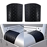 ICARS New Black Cowl Body Armor Cowling for 2007-2017 Jeep Wrangler JK Unlimited Rubicon Sahara Accessories Pair