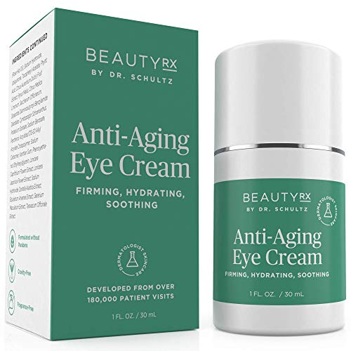 BeautyRx by Dr. Schultz Eye Cream for Dark Circles, Bags,...
