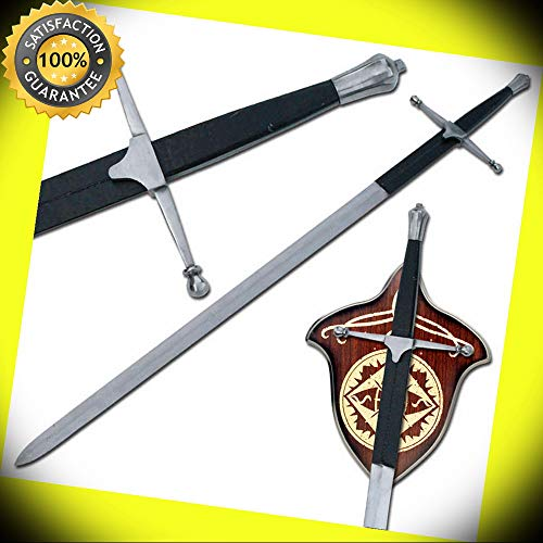 Brave Heart Scottish William Wallace Two-Handed Movie Sword Replica perfect for cosplay outdoor camping