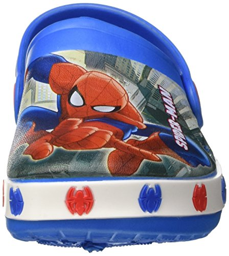 Marvel S17196laz - Patucos de Material Sintético para niño Blu (Royal)