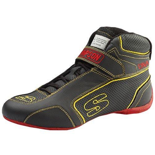Simpson DA750Y DNA Shoe Size 7.5 Black//Yellow