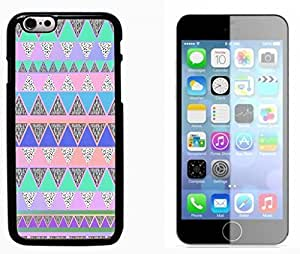 Hipstr Nebula Aztec Pattern Hard Plastic and Aluminum Back Case FOR Apple iPhone 6 6G 4.7 by runtopwell