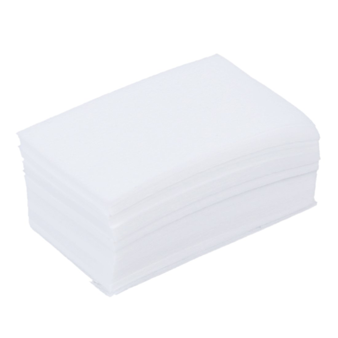 TOOGOO (R) 900pz Manicure rimozione del smalto Salviette Cotone pelucchi Pads carta SODIAL(R) 007624