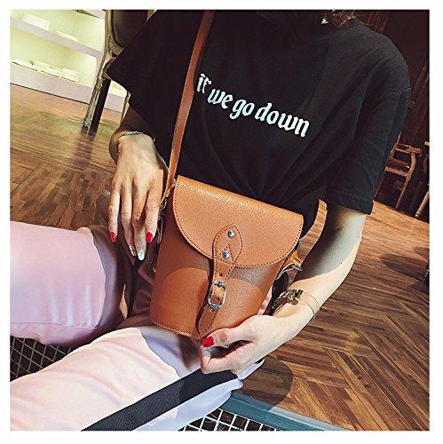seul brown bandoulière cartable loisirs leur à mode joker un sac summer seau sac fille simple GTVERNH sac qazxwn